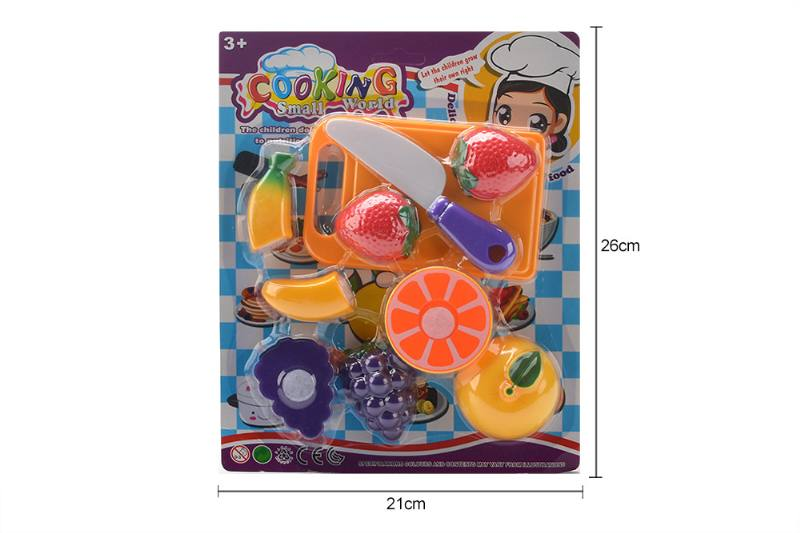 Pretend play house toys kictchen food fruit play set No.TA259994