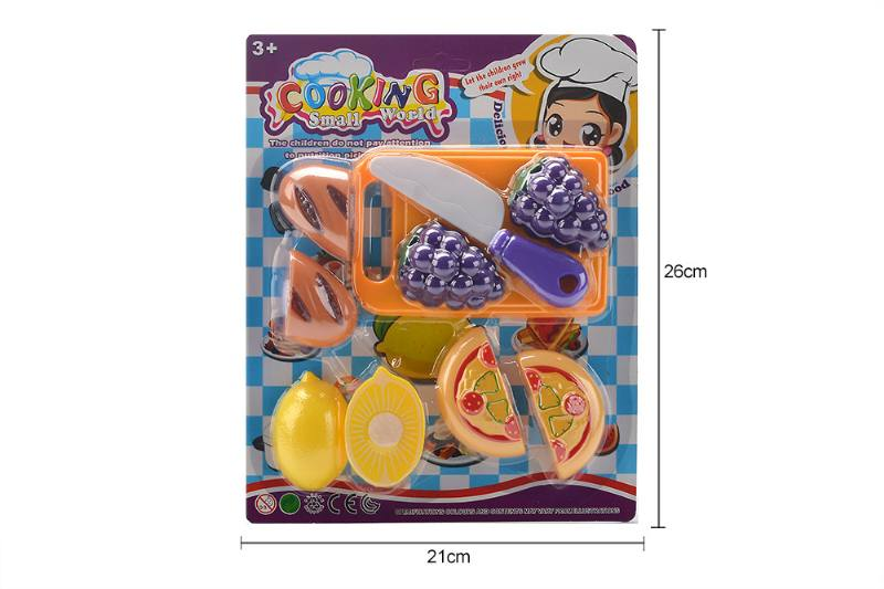 Pretend play house toys kictchen food fruit play set No.TA259996
