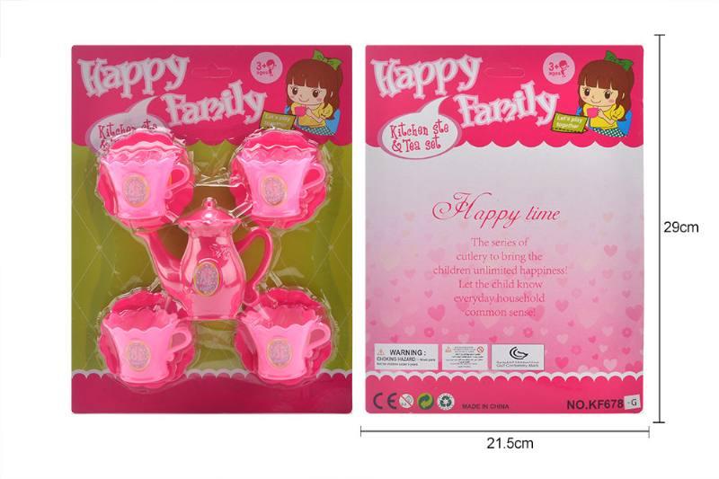 Tea set puzzle DIY toy play house toy tea set No.TA260776
