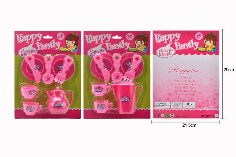 Tea set puzzle DIY toy play house toy tea set 2 No.TA260777
