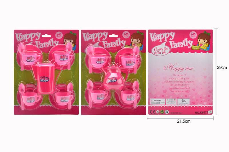 Tea set puzzle DIY toy play house toy tea set 2 No.TA260778