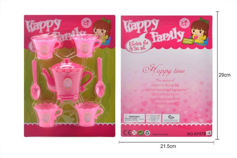 Tea set puzzle DIY toy play house toy tea set No.TA260779