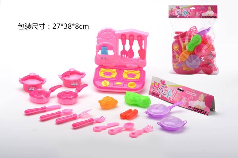 Play house toy stove cutlery set No.TA260780