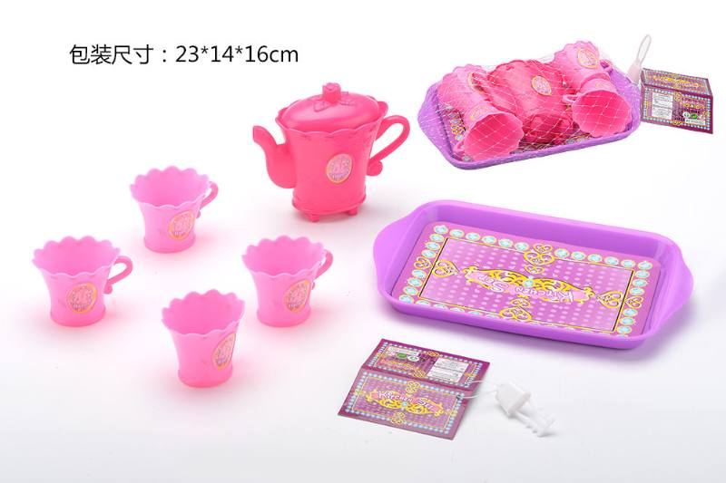 Tea set puzzle DIY toy play house toy tea set No.TA260782