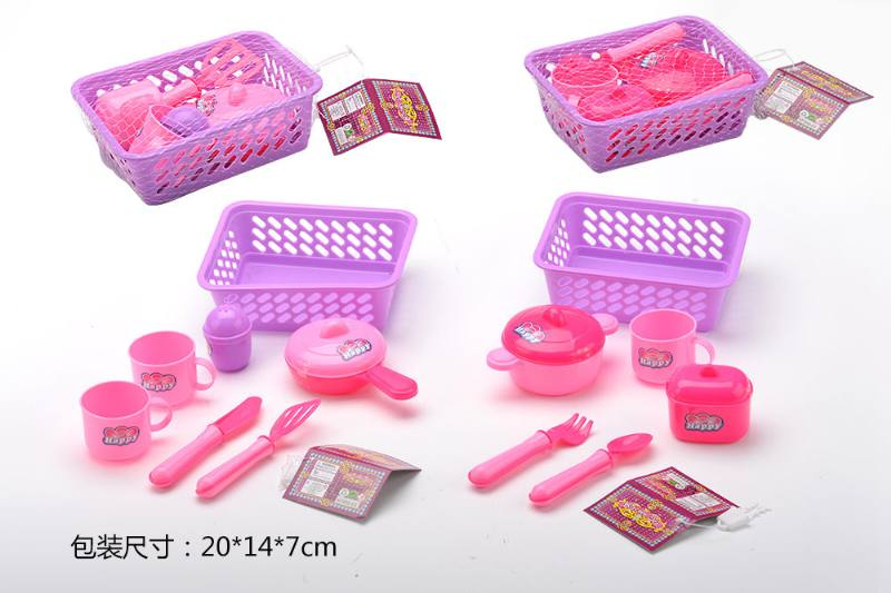 House toy, tableware basket 2 No.TA260785