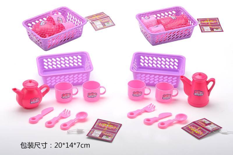 Tea set puzzle DIY toy play house toy tea set 2 No.TA260786