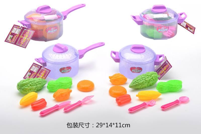 House toy, tableware transparent flash pot 2 No.TA260787