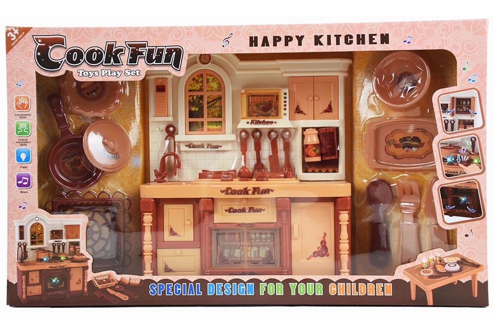 Pretend play house toys Kitchen Coffee Charged Light music No.TA261128