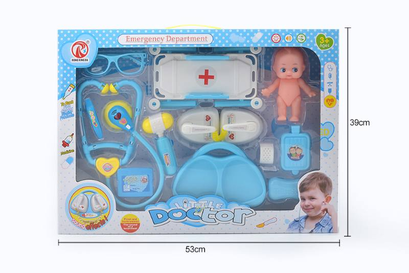 Simulation doctor play set toys with light IC-Starter NO.TA263185