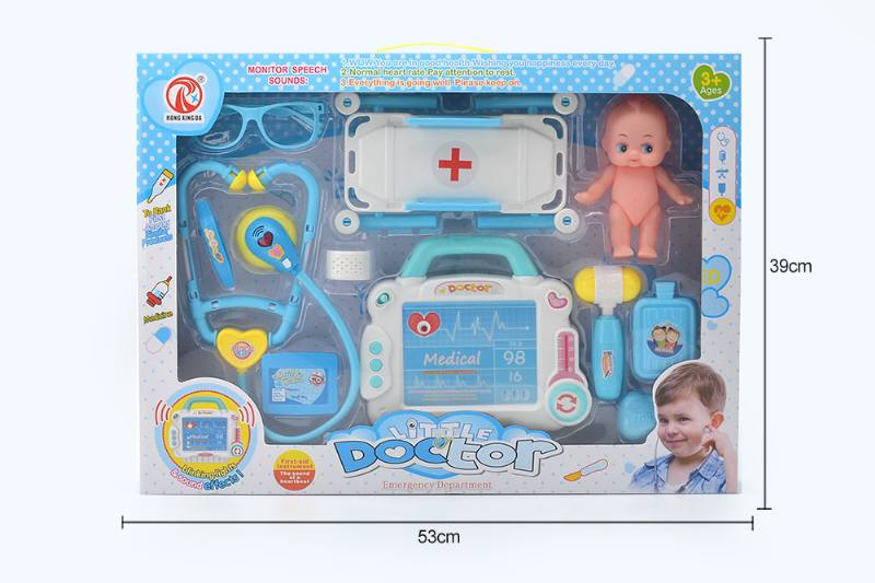 Simulation doctor play set toys with light IC-Starter NO.TA263189