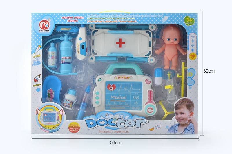 Simulation doctor play set toys with light IC-Starter NO.TA263190