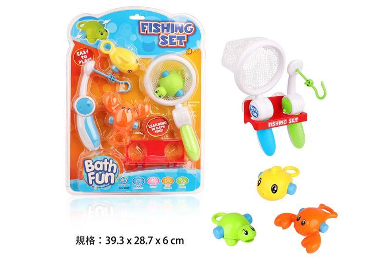 Fishing + fishing combination parent-child game No.TA254701