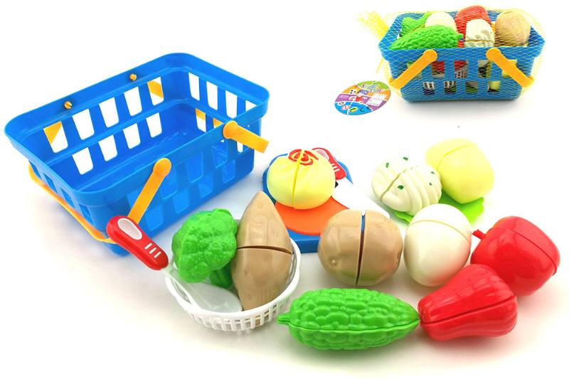Play house kitchen toy cooking tableware sets intake basket + bread cut music 15 No.TA255067