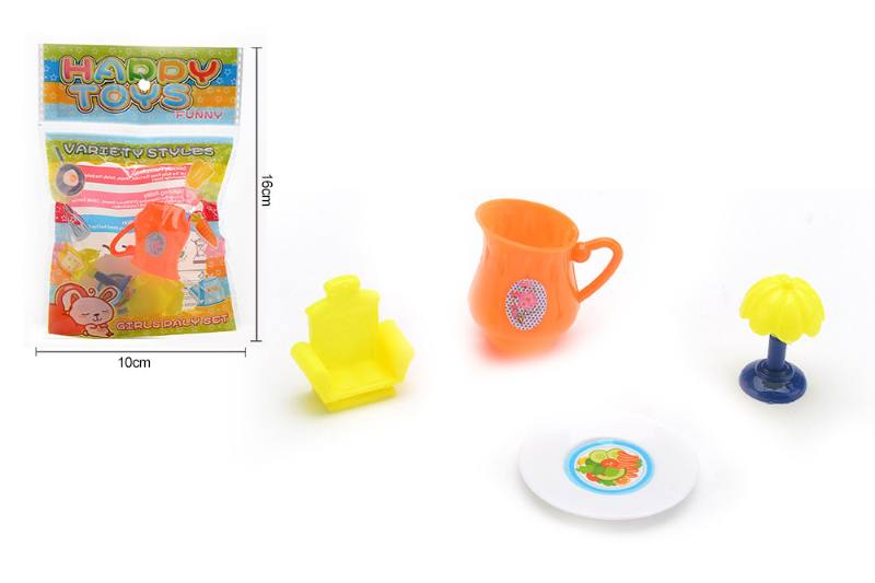 Pretend play house toys tableware kitchen play sets No.TA255158