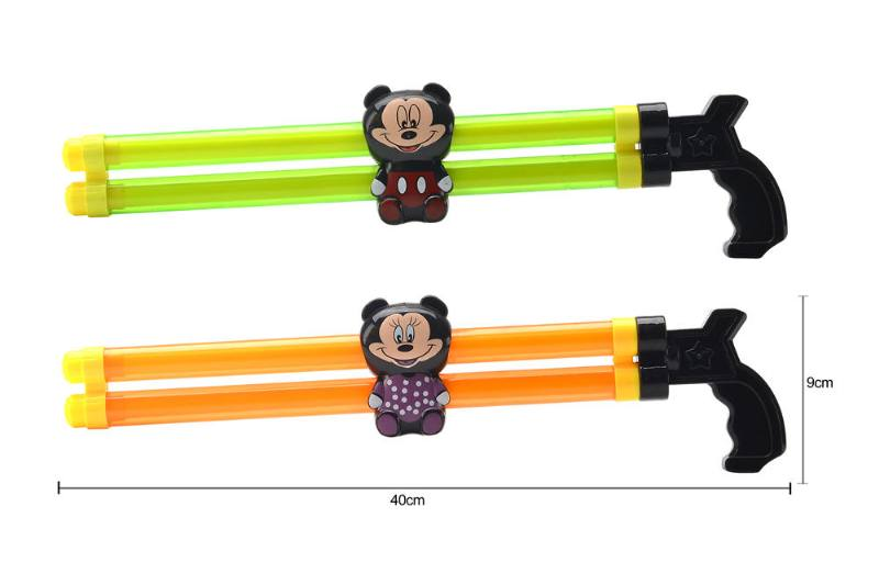 Water gun water cannon toy 40CM double tube Mickey Minnie water cannon NO.TA261798