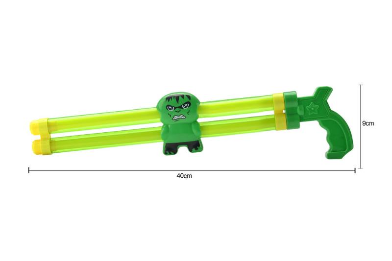 Water gun water cannon toy 40CM double tube Hulk water cannon NO.TA261800