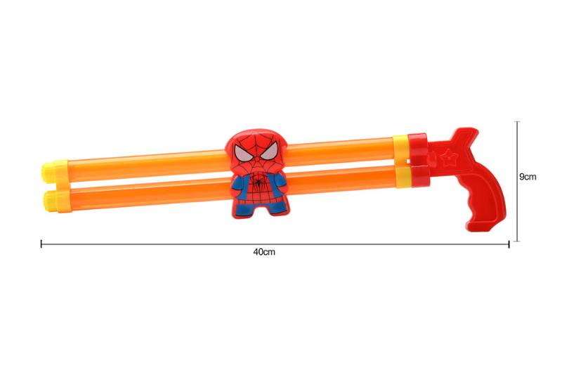 Water gun water cannon toy 40CM double spiderman water cannon NO.TA261806