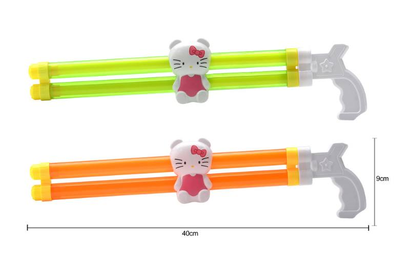 Water gun water cannon toy 40CM double tube Hello Kitty water cannon NO.TA261808