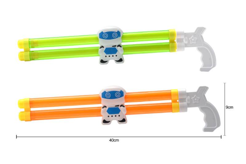 Water gun water cannon toy 40CM double tube robot water cannon NO.TA261810