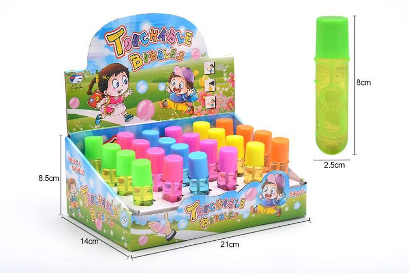 Bubble gun toy 12ml small pen bubble water No.TA257086