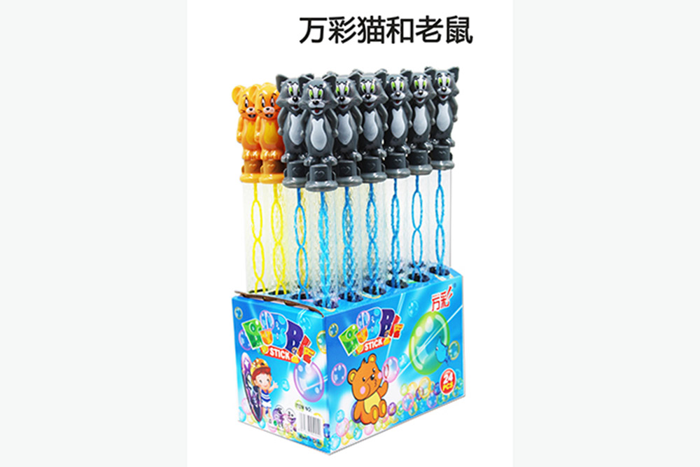 Bubble toy 38CM cat and mouse bubble water bubble stick No.TA261473