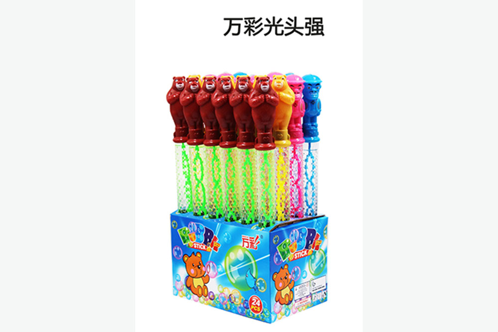 Bubble toy 38CM bald strong bubble water bubble stick No.TA261474