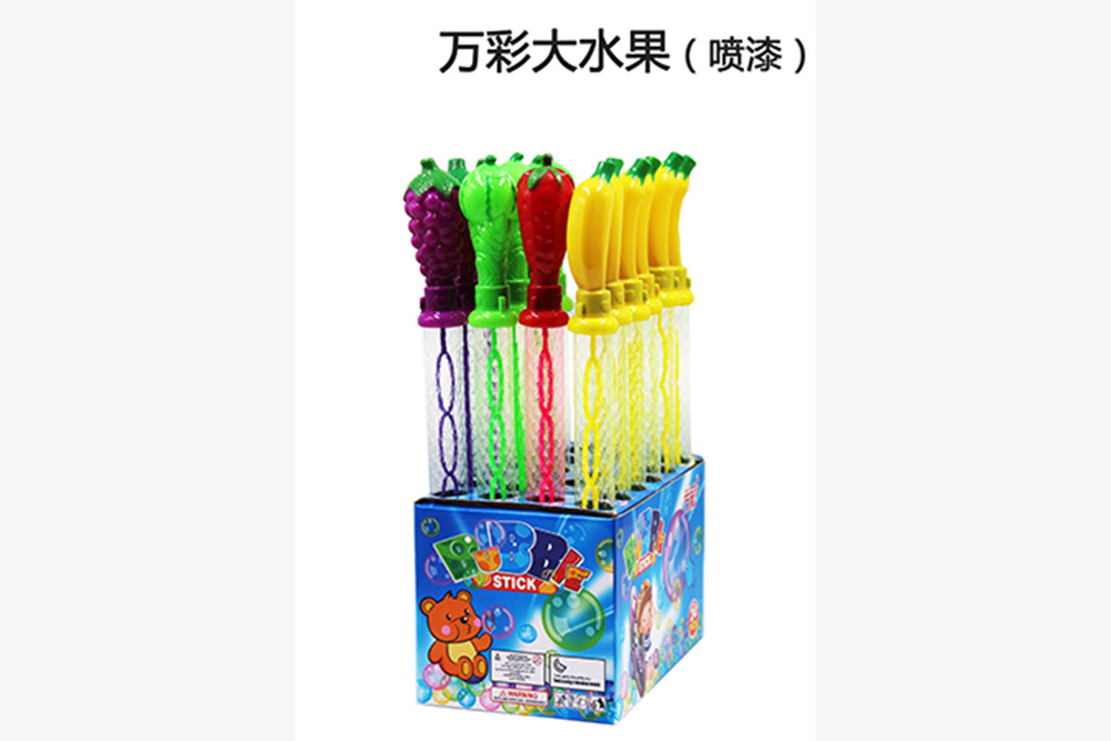 Bubble toy 38CM big fruit (painting) bubble water bubble stick No.TA261479