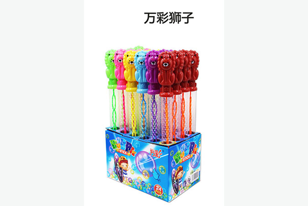 Bubble toy 38CM lion bubble water bubble stick No.TA261481
