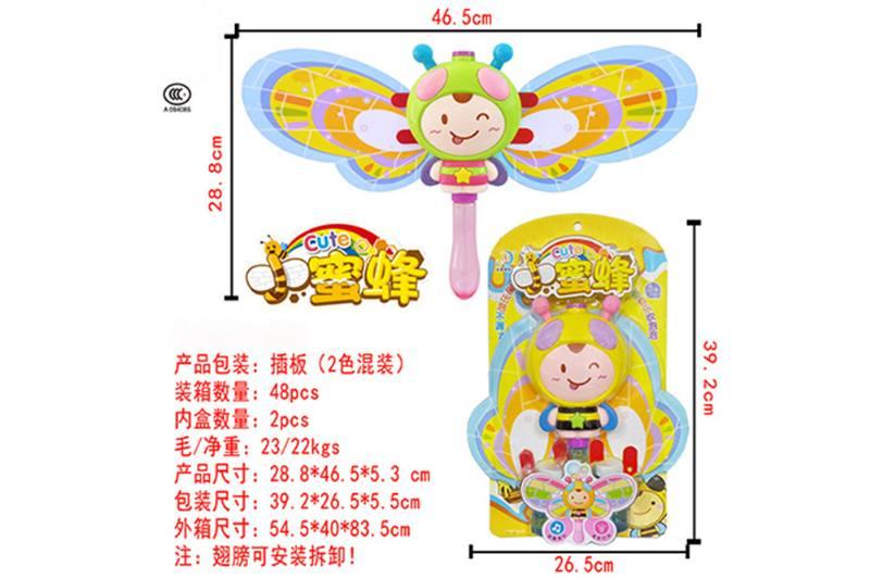 Blowing bubble toy bee balala bubble stick NO.TA262182