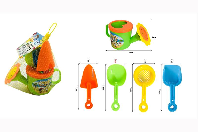 5 sets of beach toy showers No.TA257123
