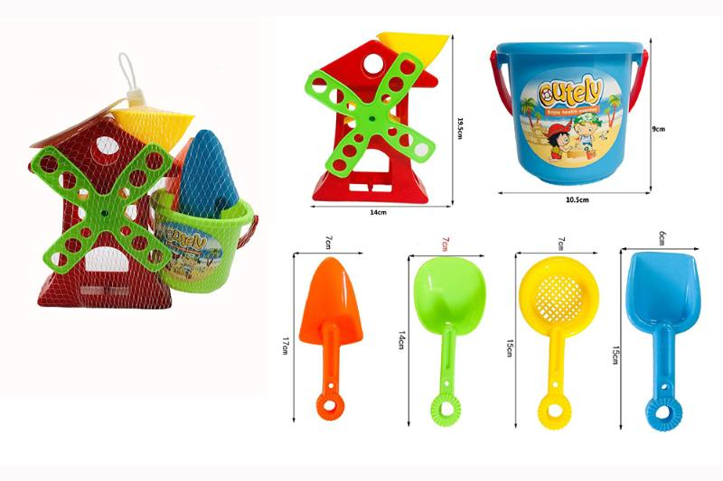 6 sets of windmill for beach toys No.TA257127