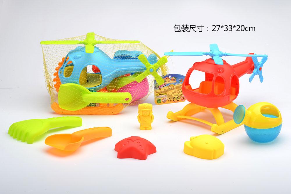 Beach toys set plane 7pcs No.TA261229