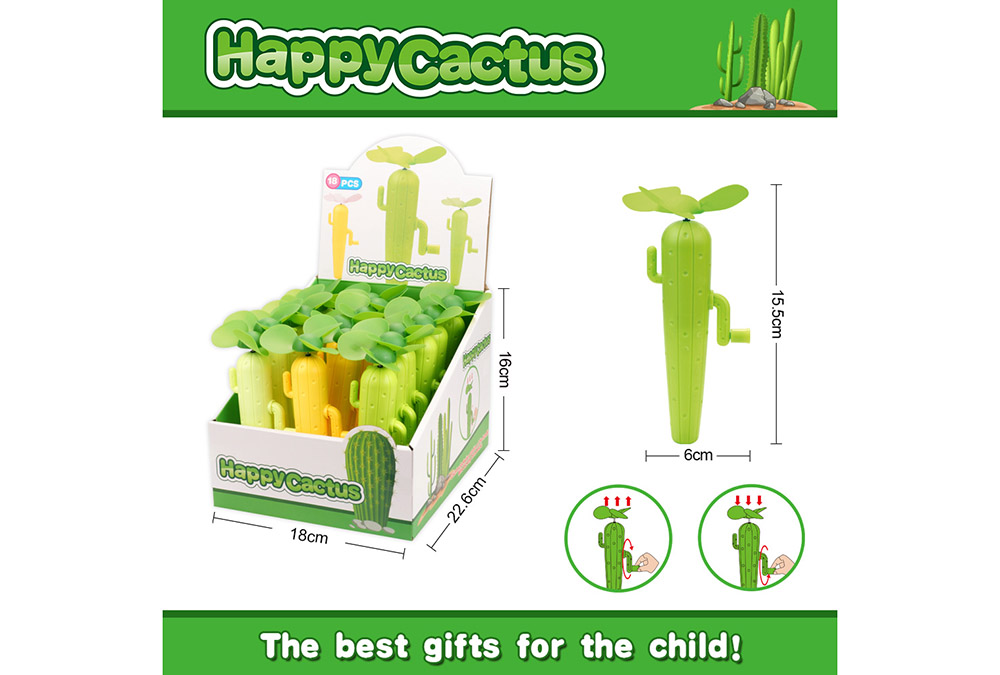 Fan toy cactus hand fanNo.TA255908
