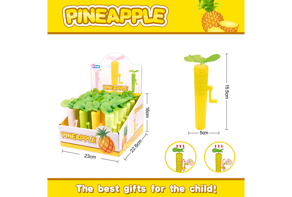 Fan toy pineapple hand fanNo.TA255909
