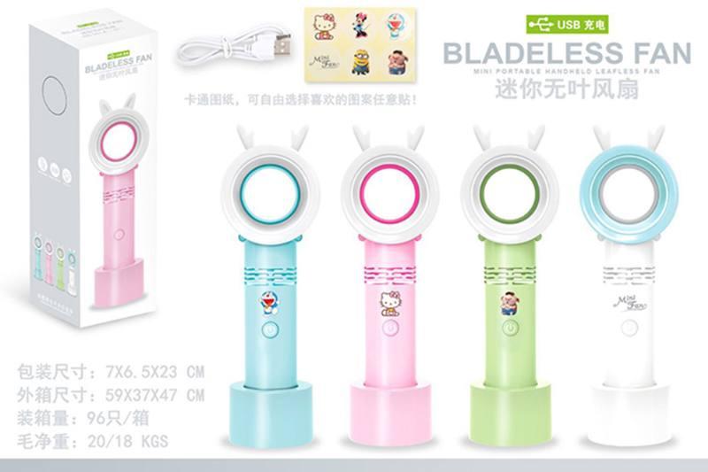 Summer hot fan toy mini leafless fan NO.TA261696