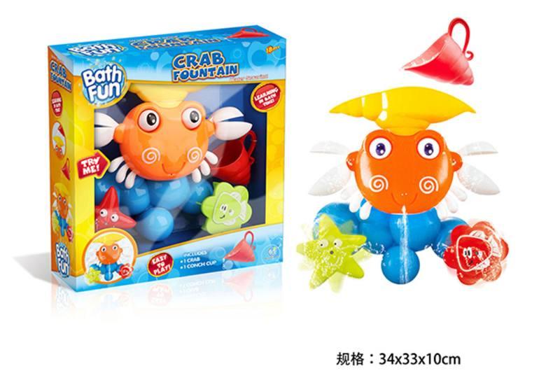 Crab bathroom combination baby shower toy No.TA254680