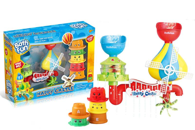Happy Castle Combination Baby Bath Toy No.TA254690