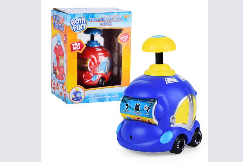 Water jet fire police car baby shower toy No.TA254691