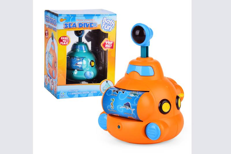 Water jet submarine baby shower toy No.TA254692