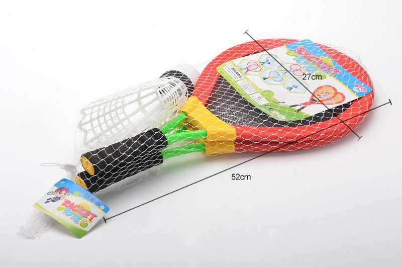 Sports Toys Color Tube Tennis Racket (Big Badminton) No.TA260584