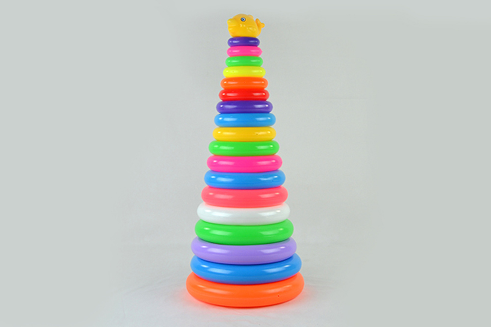 Educational toys 18-layer round ferrule dolphinNo.TA256071