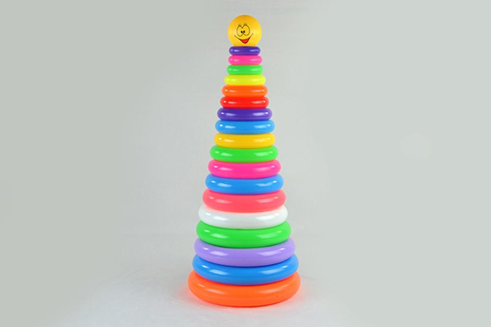Educational toys 18-layer round ferrule smiley faceNo.TA256073
