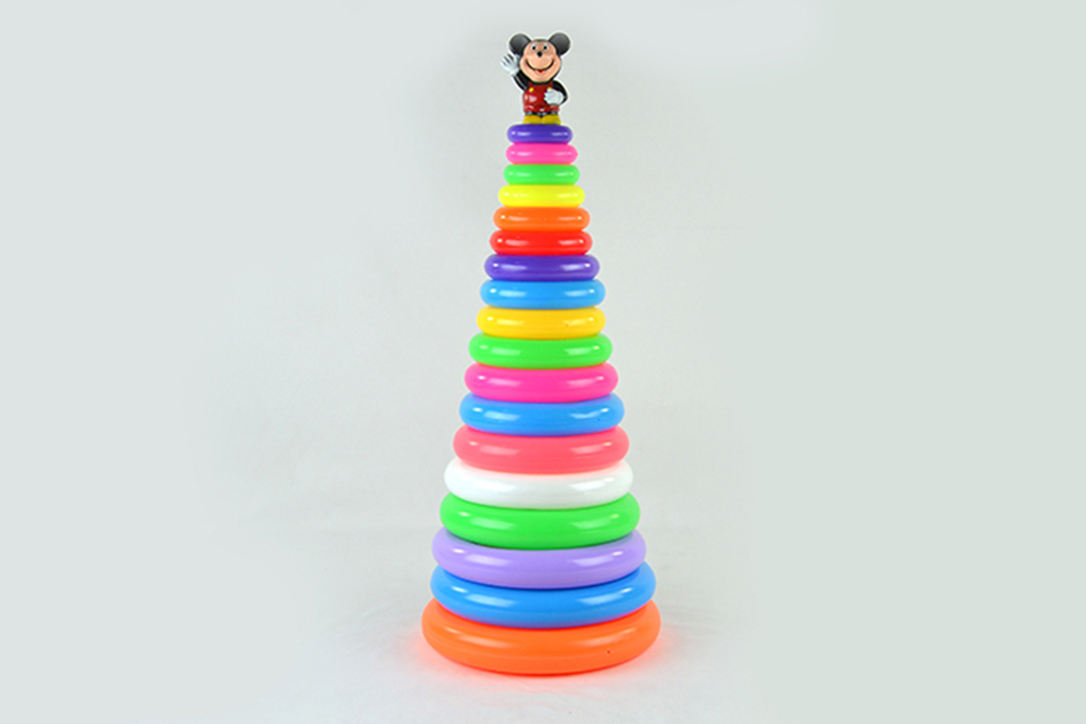 Educational toys 18-layer round ferrule Mickey MouseNo.TA256076