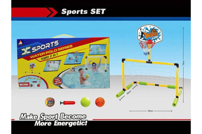 Sports toys Zhuang Shui football gate (two in one) No.TA257348
