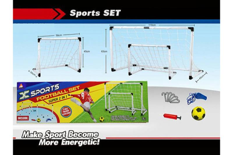 Sports toys set Zhuang football gate (two in one) No.TA257350