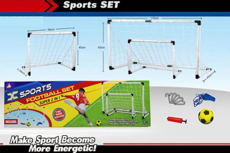 Sport toys Football Gate set(2 in 1) NO.TA261647