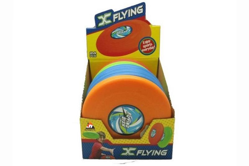 Sports toy flying saucer (7.8 inch) 24PCS four-color mix NO.TA261676