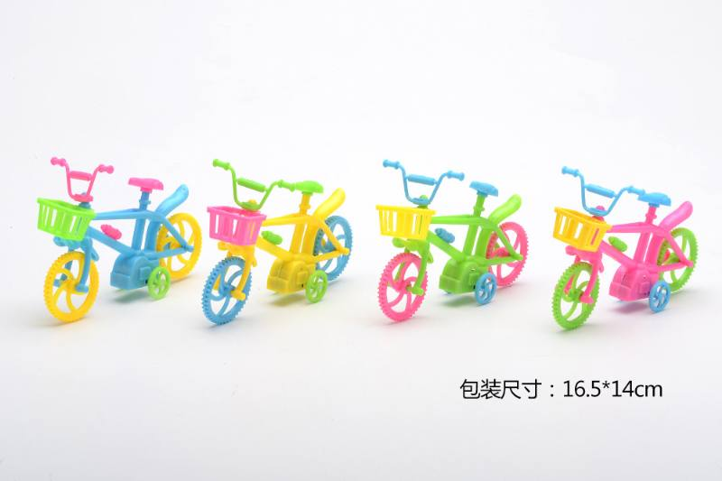 Military model toy pull back bicycle No.TA257655