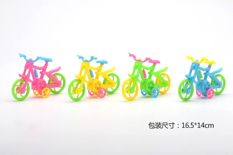 Military model toy pull back bicycle No.TA257656