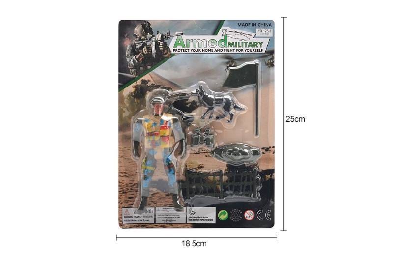 Military model toy Sucker military + accessories No.TA257664